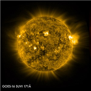 New Images From Space Show Earth and Solar Storms Like Never Before