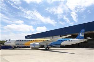 Embraer Rolls Out the E195-E2