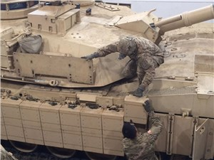 Army Unit Bolsters Abrams Tanks With 'Reactive' Armor