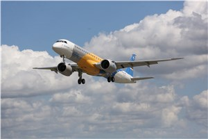 Embraer Flies the E195-E2 ahead of schedule