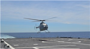 MQ-8C Fire Scout Completes Successful 1st Flight from LCS