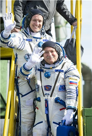 Two New Crew Members Arrive at ISS