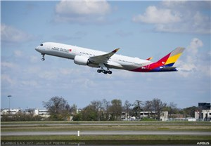 Asiana Airlines 1st A350 XWB Delivered
