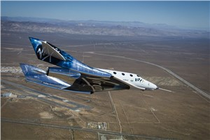 1st Feather Flight of VSS Unity Completed