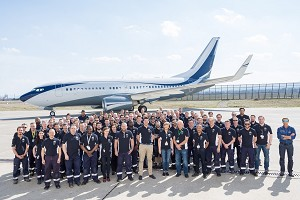 Jet Aviation Completes and Redelivers a Major Refurbishment on a Boeing B737