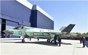 1st Italian-Built F-35B 'Rolls Out' of Production Facility