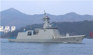 MT30 Gas Turbines for Next 3 Korean Daegu-class Frigates