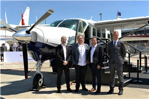 Waves Technologies selects Cessna Grand Caravan EX