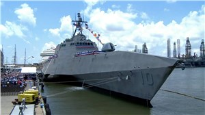 USS Gabrielle Giffords Commissioned in Galveston
