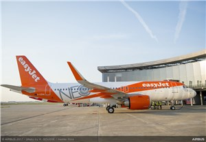 easyJet receives 1st of 130 A320neo aircraft