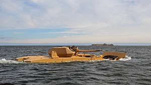 Amphibious Testing of Patria AMV28A Successfully Completed