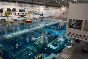 Raytheon continues mission support at NASA's Neutral Buoyancy Laboratory