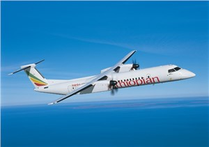 Bombardier Unveils Ethiopian Airlines as Previously Undisclosed Customer that Ordered Q400 Aircraft