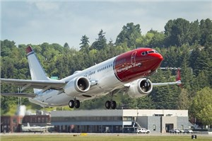 Boeing, Norwegian Celebrate Delivery of Airline's 1st 737 MAX 8s