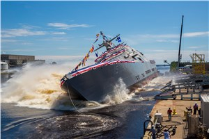 LM-Led Team Launches Future USS Billings