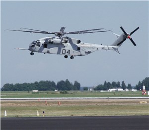 Patuxent River welcomes CH-53K to flight line