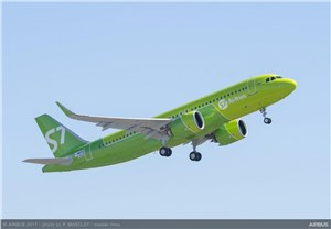 S7 Receives A320neo Powered by P&W PurePower Engines