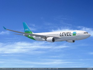 IAG re-affirms confidence in A330-200 with three more for LEVEL