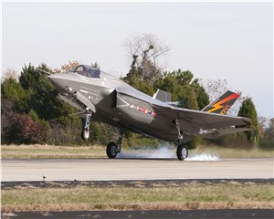FRC East inducts 1st F-35 A