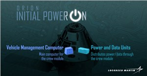 LM Powers-up Next Orion Spacecraft for 1st Time