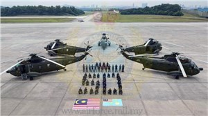 Sikorsky celebrates 50 years of service by the Nuri S-61 with the RMAF