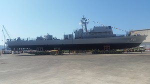 Israel Shipyards Launched a New OPV for the Cyprus Navy