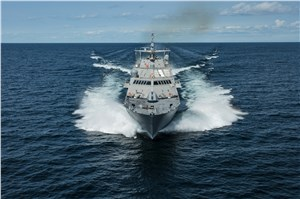 LM and Fincantieri Marinette Marine deliver future USS Little Rock to US Navy