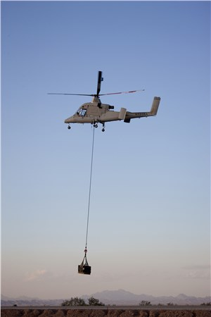 Kaman Receives K-MAX Order from Columbia Basin Helicopters