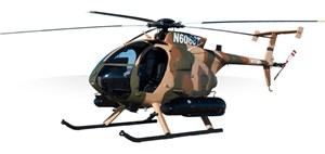 Triumph Agreement with MD Helicopters Extends Support for the MD 530F Cayuse Warrior