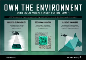 LM to Develop Next-Gen Sensor Fusion Testbed to Enhance Helicopter Survivability