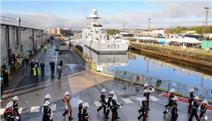 Second River Class Offshore Patrol Vessel Named in Glasgow