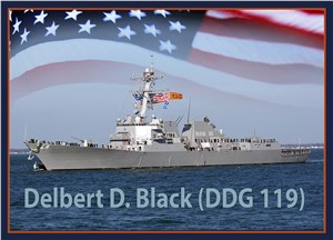 Navy to Christen Guided-Missile Destroyer Delbert D Black