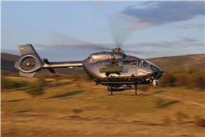 Airbus Helicopters Completes 1st Firing Campaign With HForce-equipped H145M