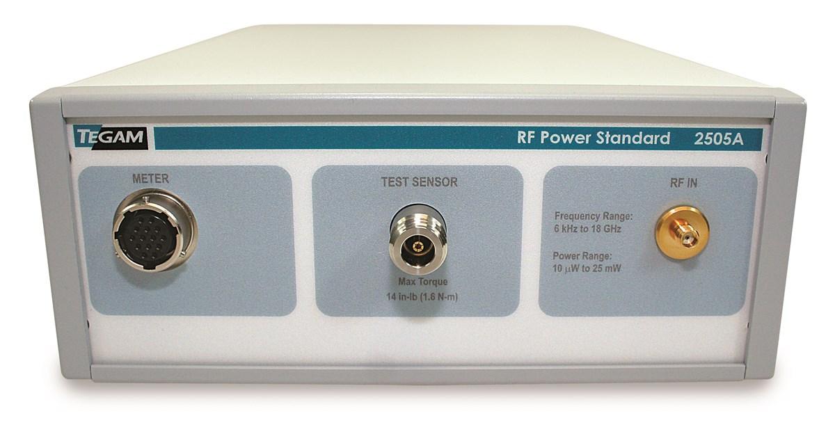 New TEGAM RF Power Standards Modernizes USAF Laboratories