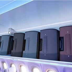 American Airlines is 1st retrofit customer for Airbus' new Airspace XL luggage bins on its A321 fleet