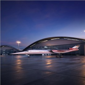 Aerion and LM Join Forces to Develop World's 1st Supersonic Business Jet