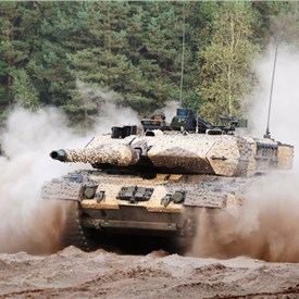 Saab Receives Order from KMW for Mobile Camouflage Systems