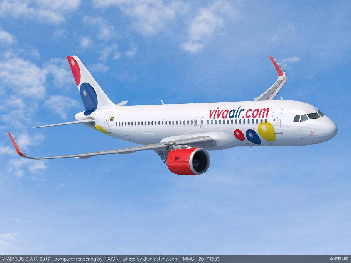 Viva Air Finalizes Order For 50 A320 Family Aircraft