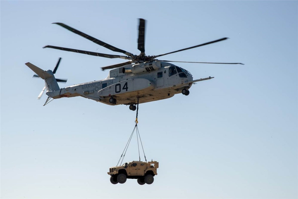 Ch 53k Demonstrates Vehicle Lift