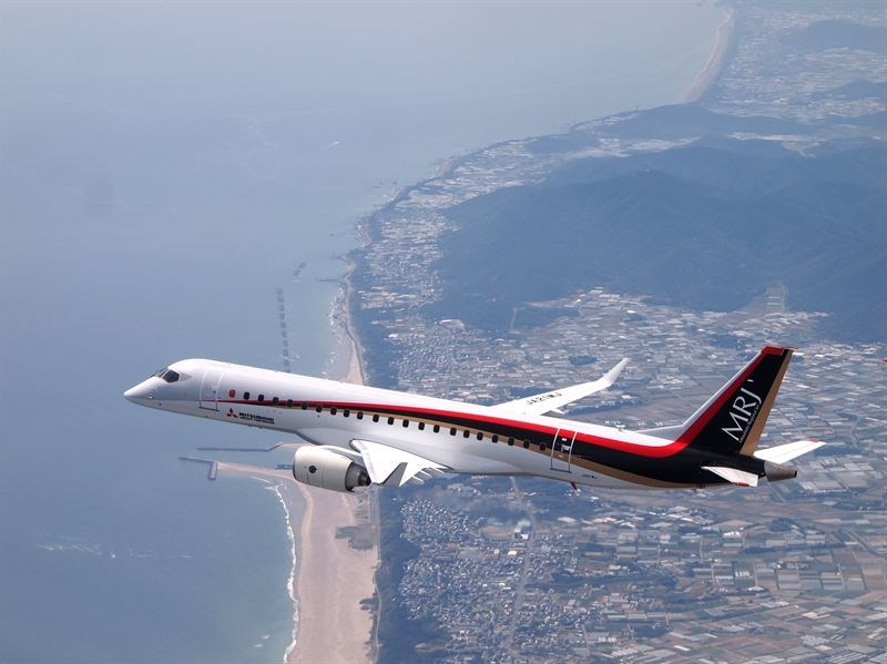saab delivers manuals to the mitsubishi aircraft corporation