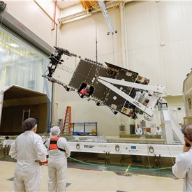Lockheed Martin Completes Assembly on Arabsat's Newest Communications Satellite