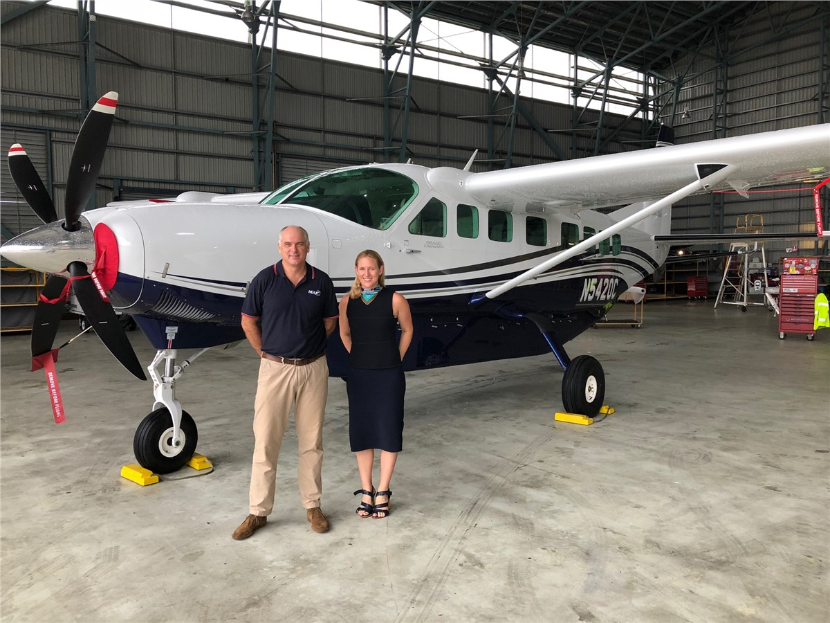 Textron Aviation And Maf Announce Firm Order For 5 Cessna Ca
