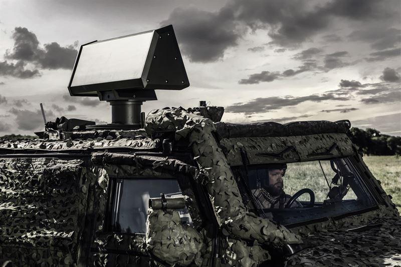 Saab S Giraffe 1x Radar Offers A Man Portable 75km Detection