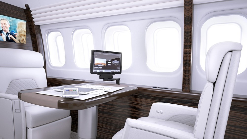 Rockwell Collins Venue Cabin Management System Installed For