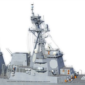 Raytheon Awarded $136 M for Production of US Navy's Next-gen Air and Missile Defense Radar