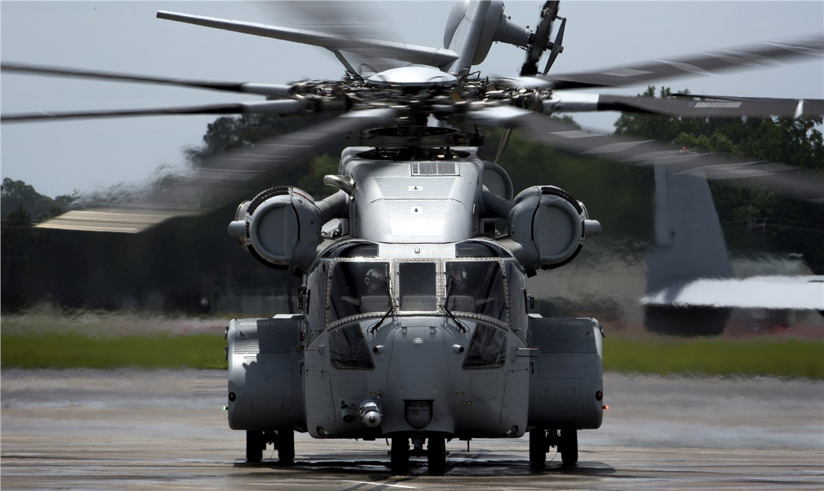 Sikorsky Begins CH-53 King Stallion Heavy Lift Helicopter De