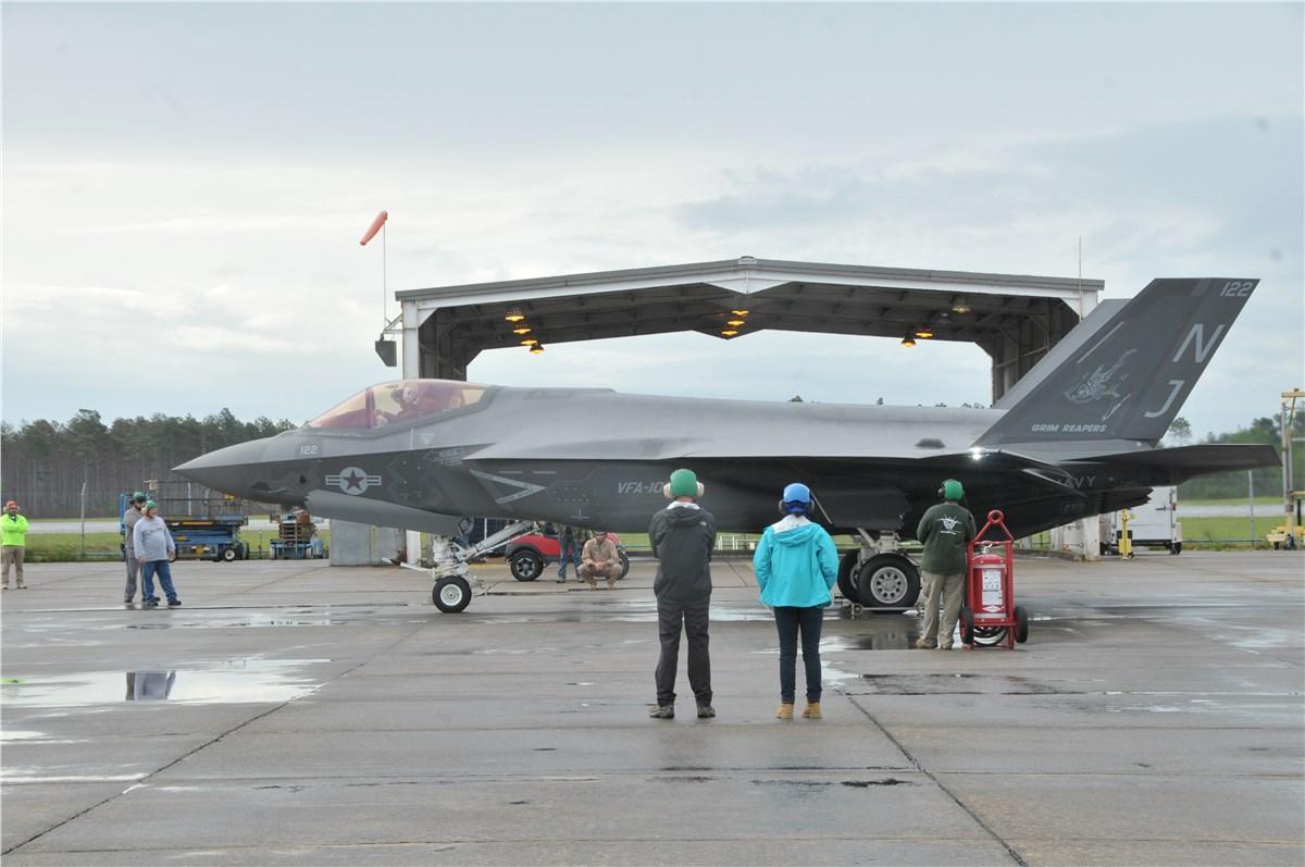 FRC East Milestone in F-35 Maintenance