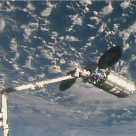 Orbital ATK's Cygnus Spacecraft Successfully Completes Rendezvous and Berthing with ISS