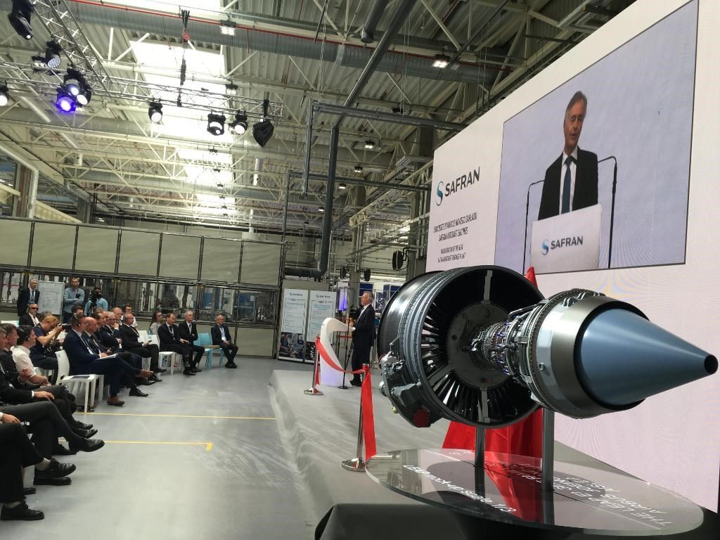Safran Inaugurates New LEAP Engine Parts Plant in Poland
