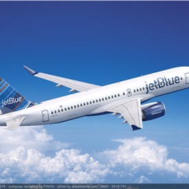 JetBlue Selects P&W GTF Engines to Power 60 Airbus A220-300 Aircraft